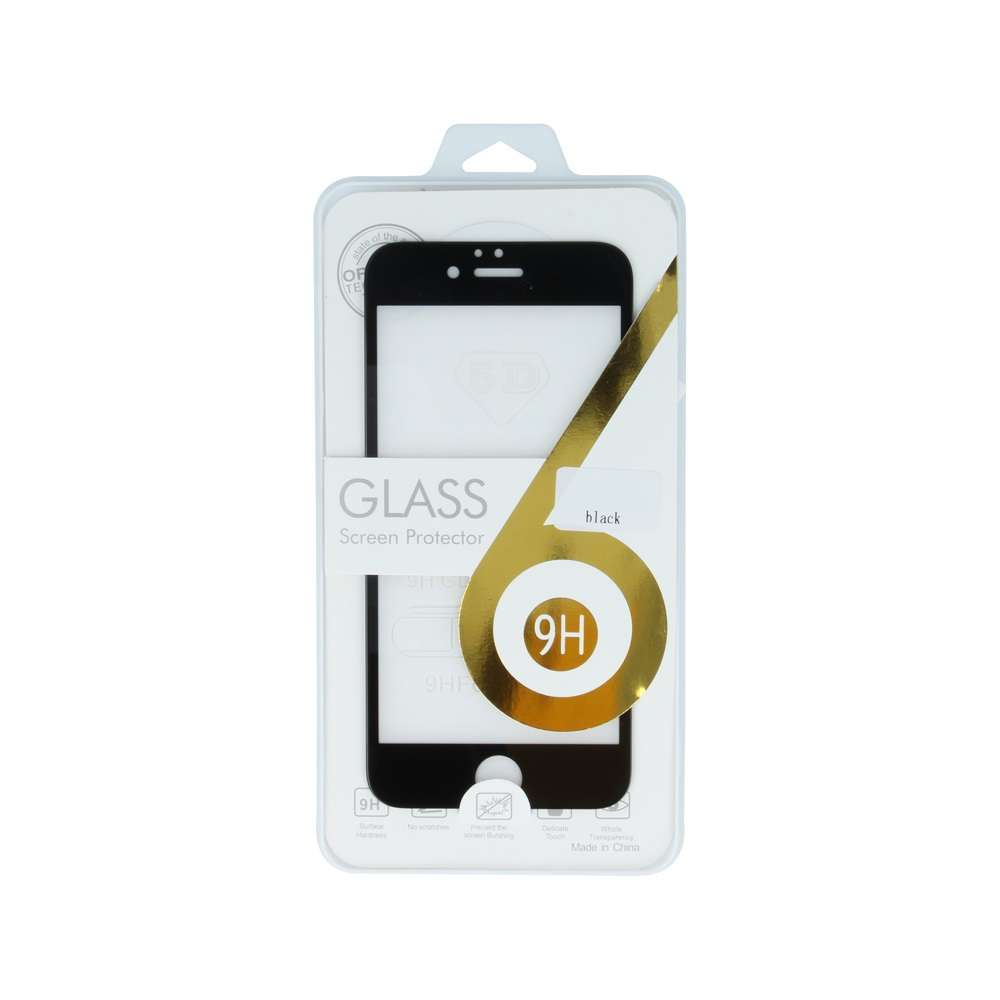5D Tempered Glass for Samsung A8 2018 A530 white frame