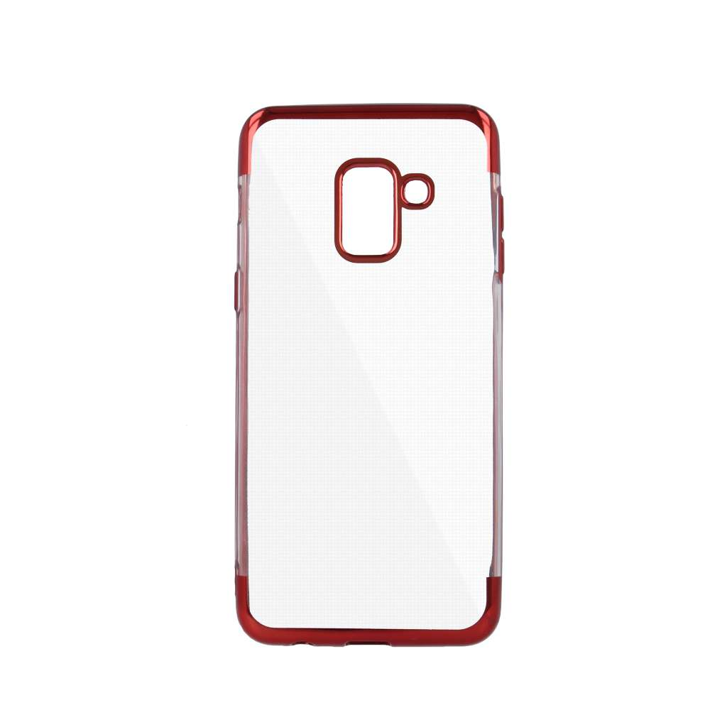 Plating Soft TPU Case for Samsung J4 2018 red