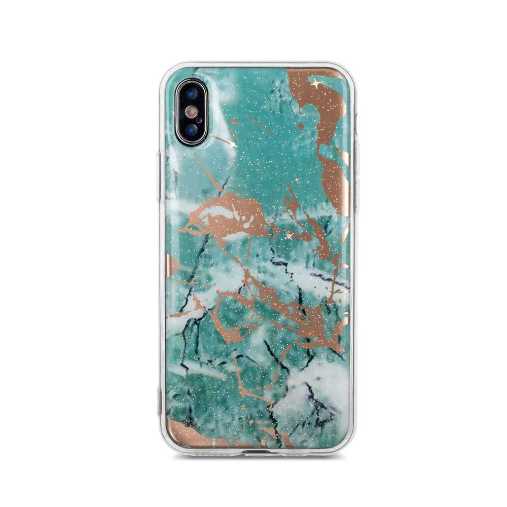 Marmur case for Samsung M20 green