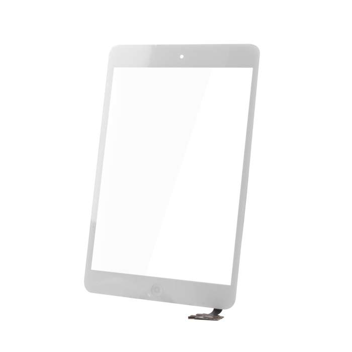 Touch Panel for iPad Mini full front white