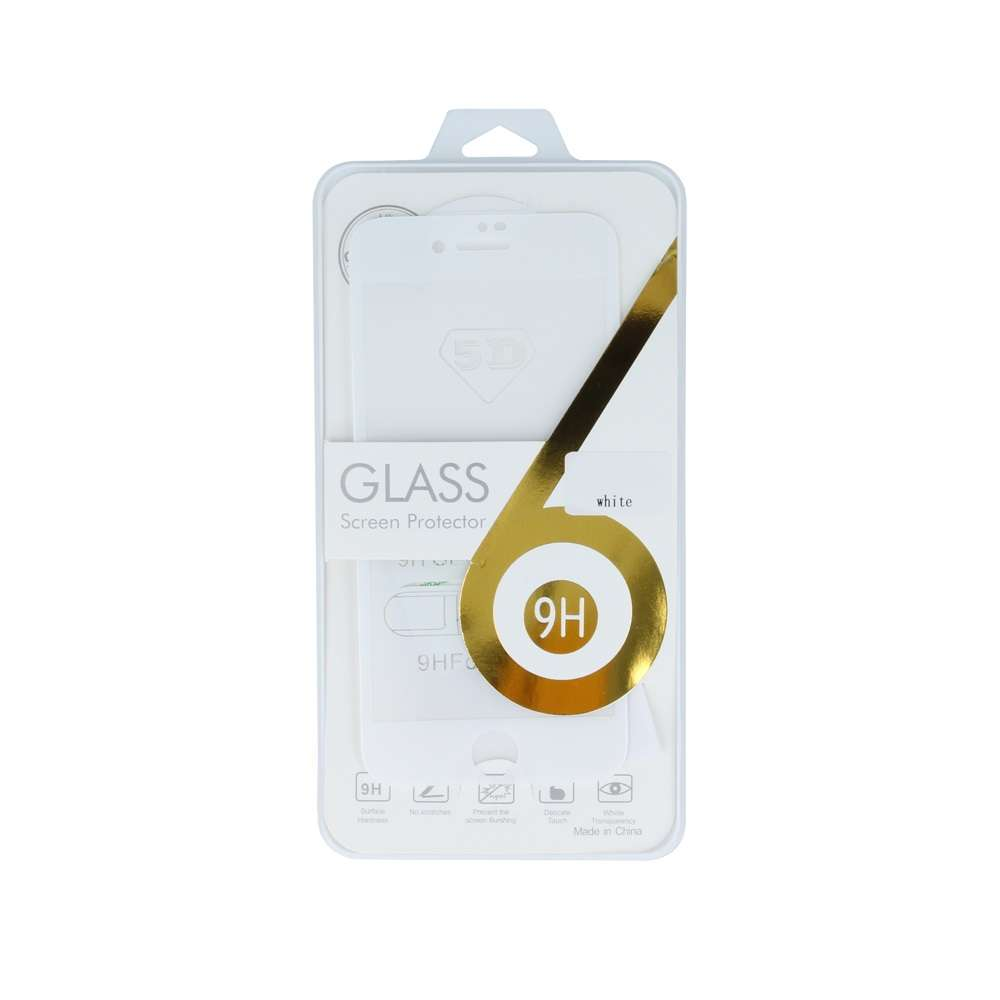 5D Tempered Glass for iPhone 6 / iPhone 6s white