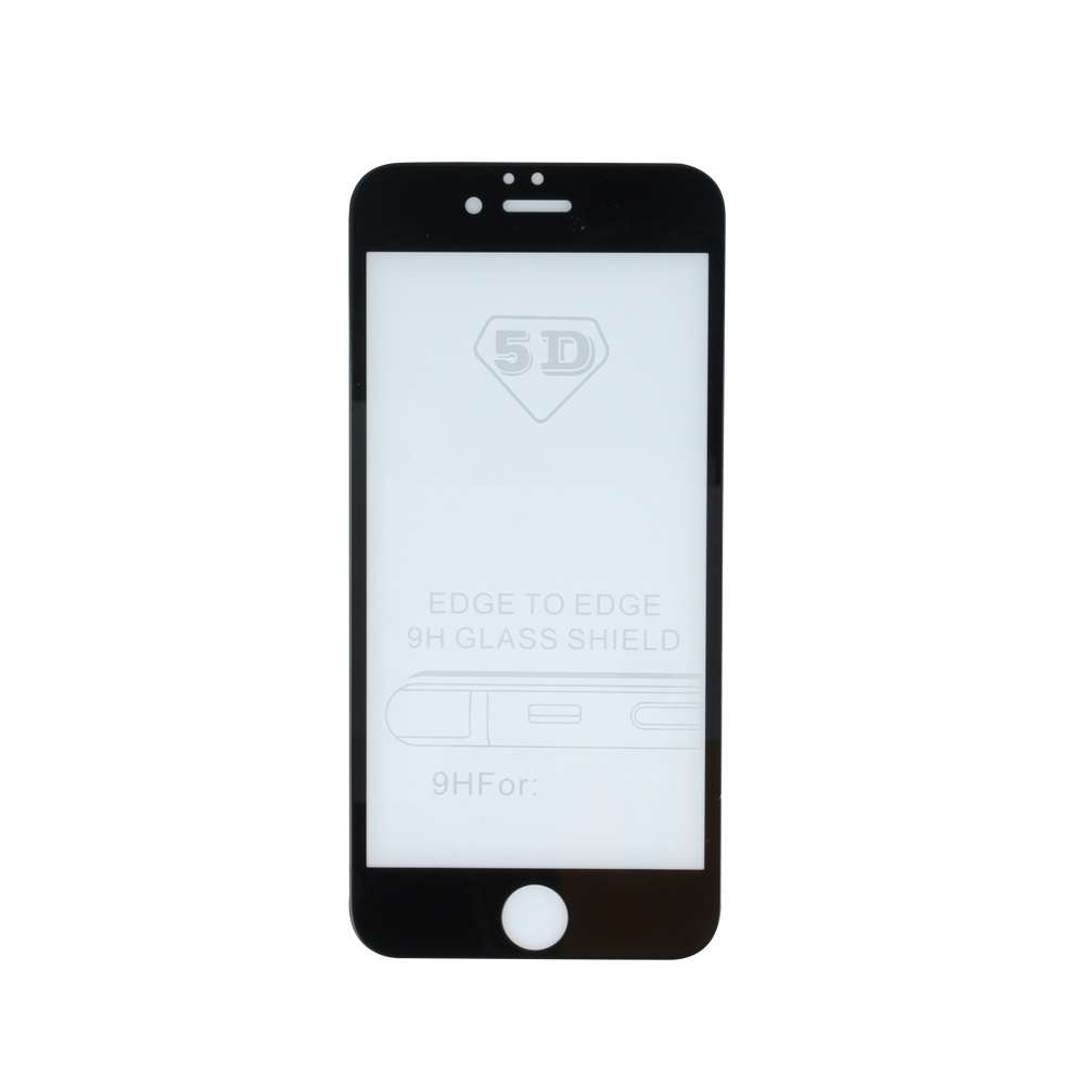 5D Tempered Glass for iPhone X / iPhone XS / iPhone 11 Pro black
