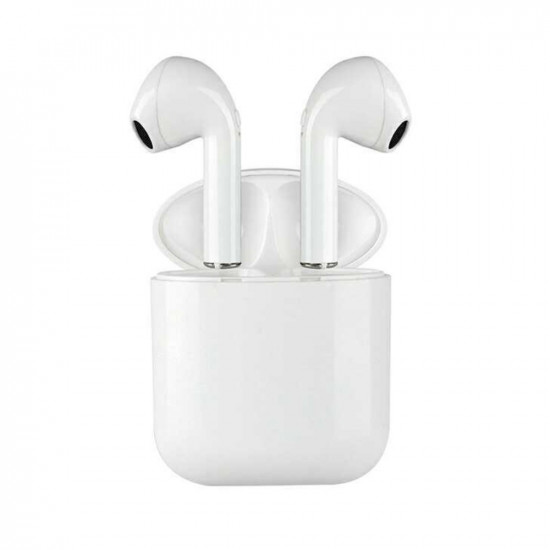 Casti Wireless Bluetooth MKJ-I9 Earbuds Alb