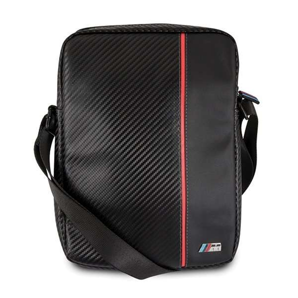 Torba BMW BMTB8CAPRBK Tableta 8 czarny / carbon negru / Red Stripe
