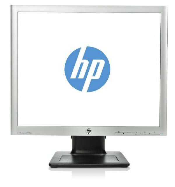 Monitor 19 inch LED, HP Compaq LA1956x, Silver & Black