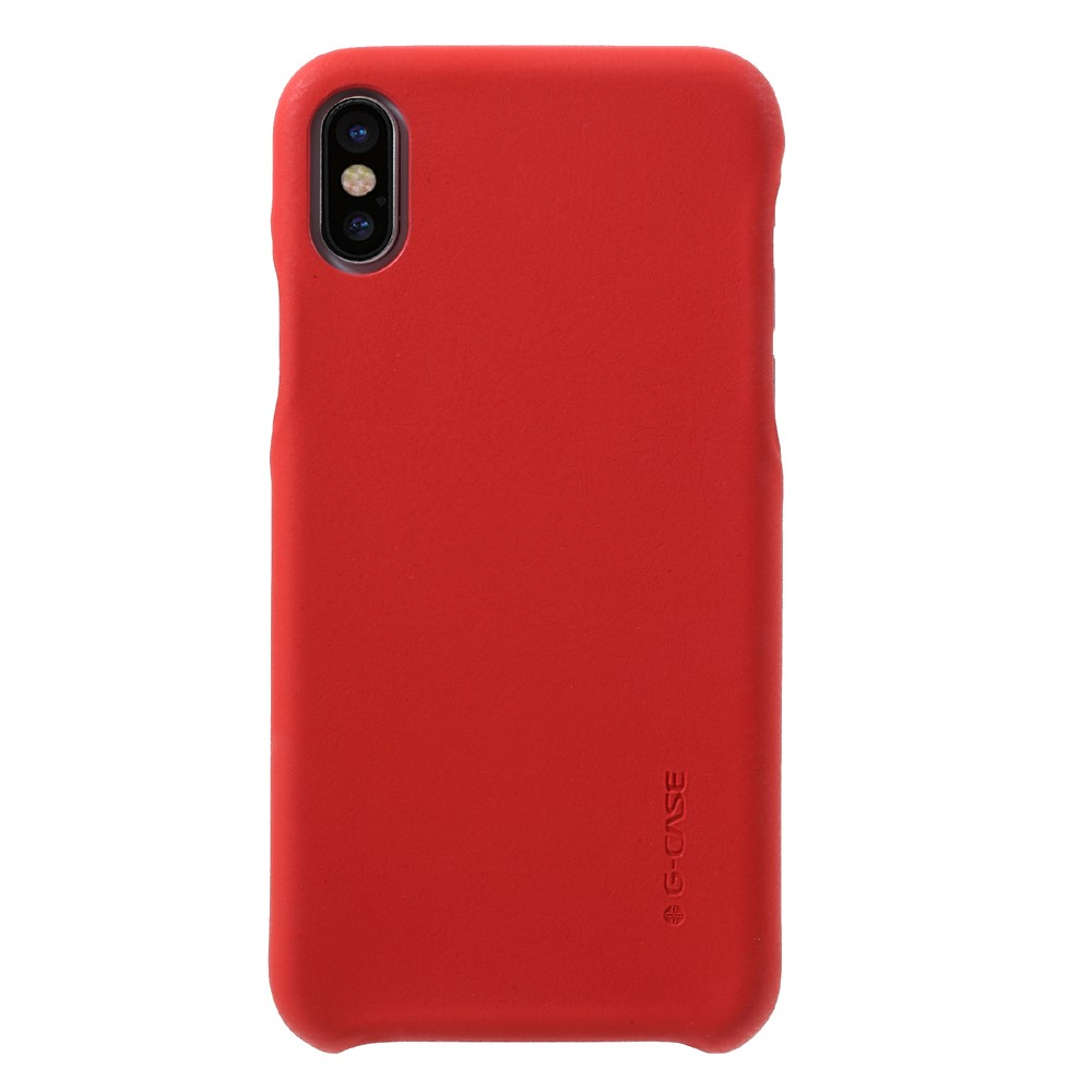 Husa Apple iPhone X G-CASE Rosu