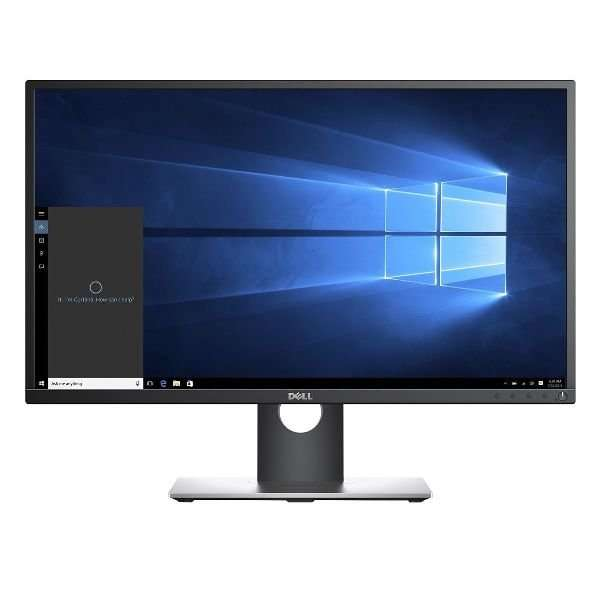 Monitor 24 inch LED IPS, Full HD, DELL P2417H, Black & Silver, Display Grad B, Picior Defect