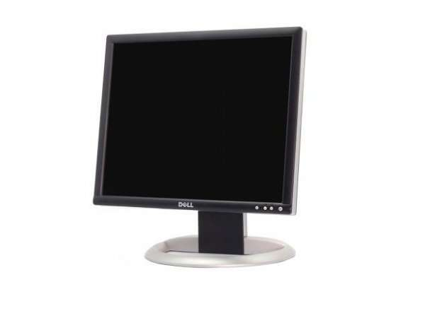 Monitor 19 inch LCD DELL Ultrasharp 1905FP, Black & Silver, Display Grad B, Lipsa Picior