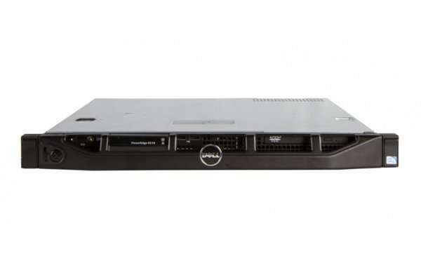 Server DELL PowerEdge R210, Rackabil 1U, Intel Quad Core Xeon X3450 2.67 GHz, 16 GB DDR3 ECC, 500 GB HDD SATA, Raid Controller Dell Perc S100, iDrac 6 Ent, 1 x Sursa, 2 Ani Garantie