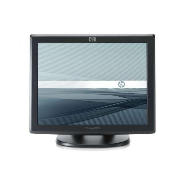 Monitor 15 inch LCD, HP L5009tm, ELO 1515L, Black, Touchscreen, 3 Ani Garantie