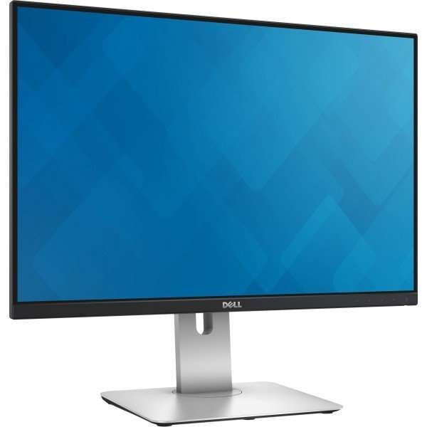 Monitor 24 inch LED, IPS, HDMI, Full HD, Dell U2415B, Black, Panou Grad B