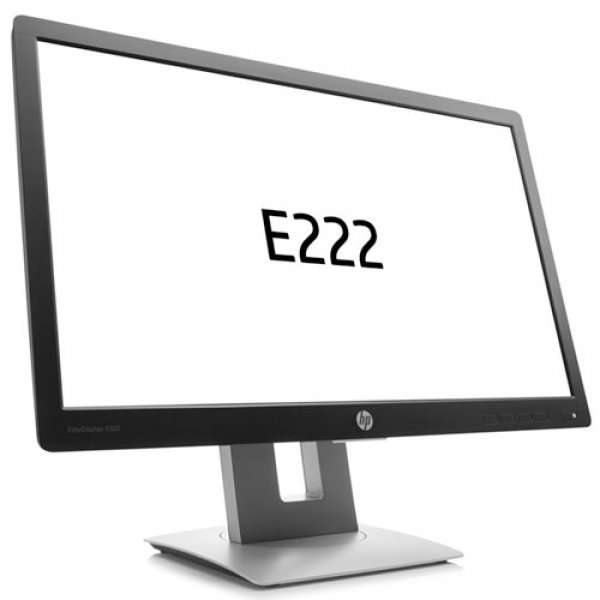 Monitor 21.5 inch LED Full HD, HP EliteDisplay E222, Dungi pe Display, Lipsa Picior