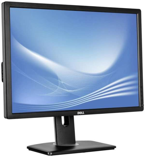 Monitor 24 inch LED Full HD, Dell U2412M, Black & Silver, Lipsa Picior
