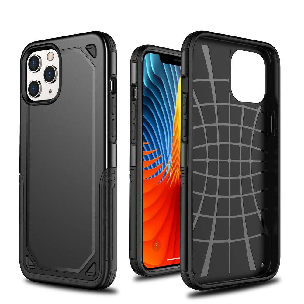 Husa Apple iPhone 11 Pro Max Defender Model 2, Negru