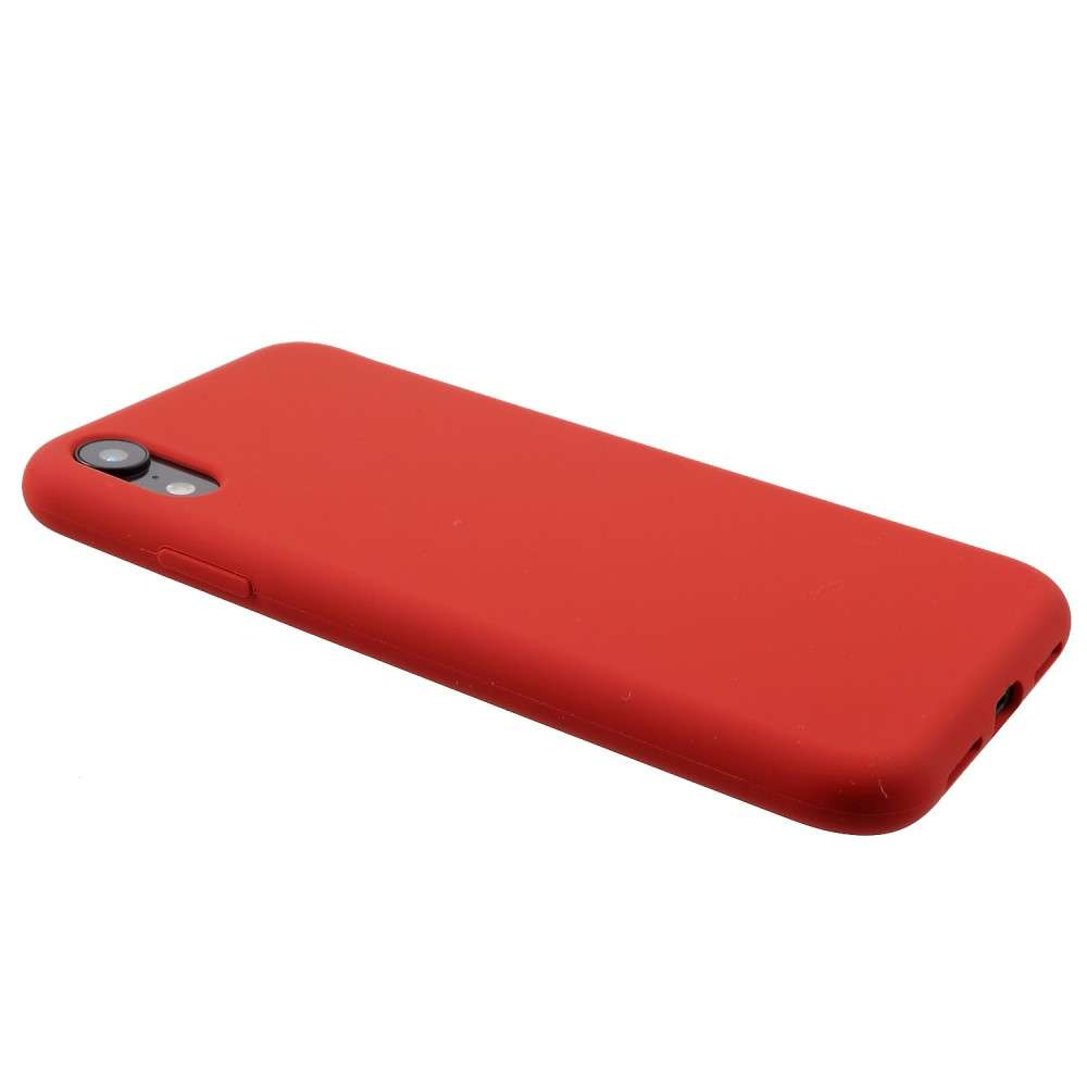 Husa Apple iPhone XR Liquid Silicone Case Rosu